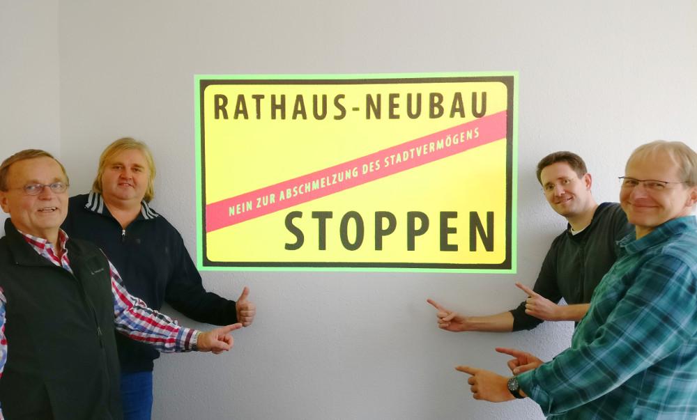 Rathaus Neubau Stoppen